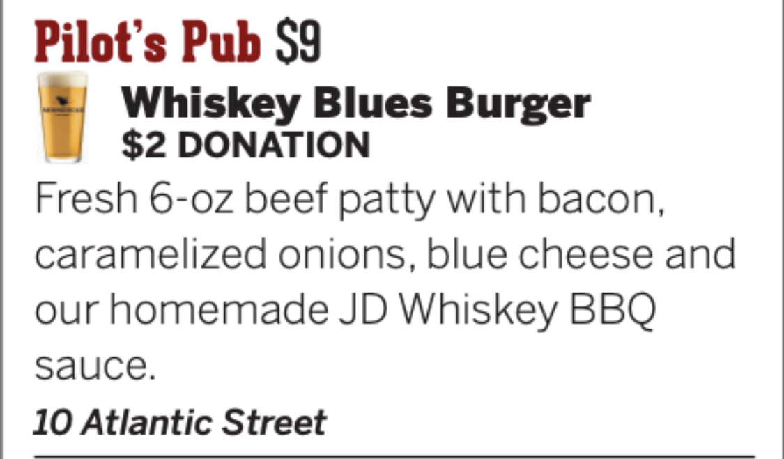 Whiskey Blue Burger